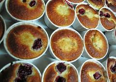 buttermilk raspberry mini cakes