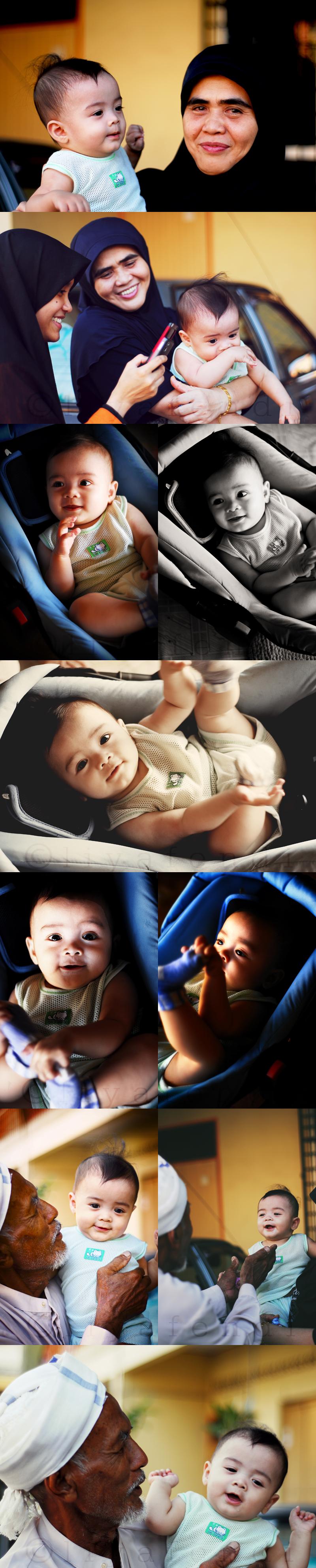 My nephew, Ihsan Fathi. 7 months