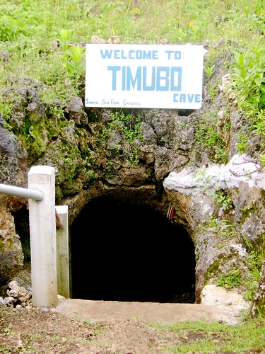 The entrance of Timubo Cave
