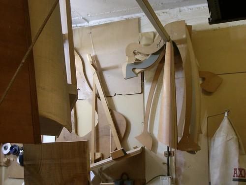 Half-made harps