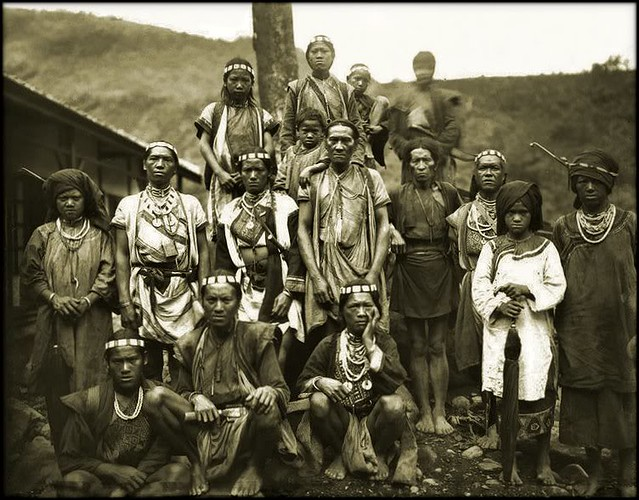 Taiwan Aborigines, Bunun Tribe, Formosa [c1900] Attribution Unk [RESTORED]