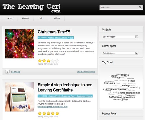 theleavingcert.com revamp