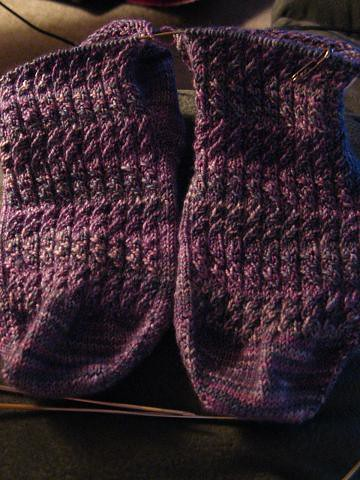 Socks in Progress