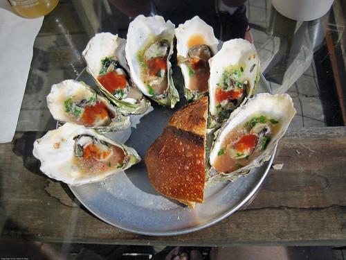 1/2 Dozen BBQ Oysters