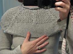 Sweater KAL WIP