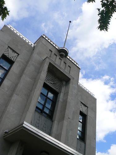 Art Deco Buildings Piscine Rosemont
