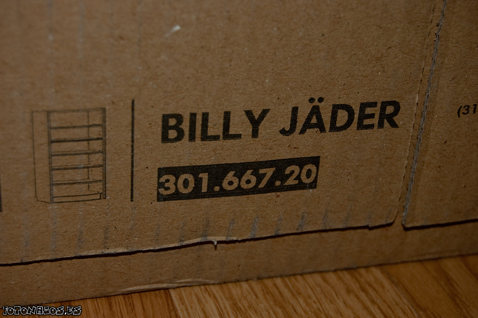 Montaje Librería Billy Jäder Edición Especial