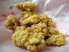crawfish shack seafood - fried oysters