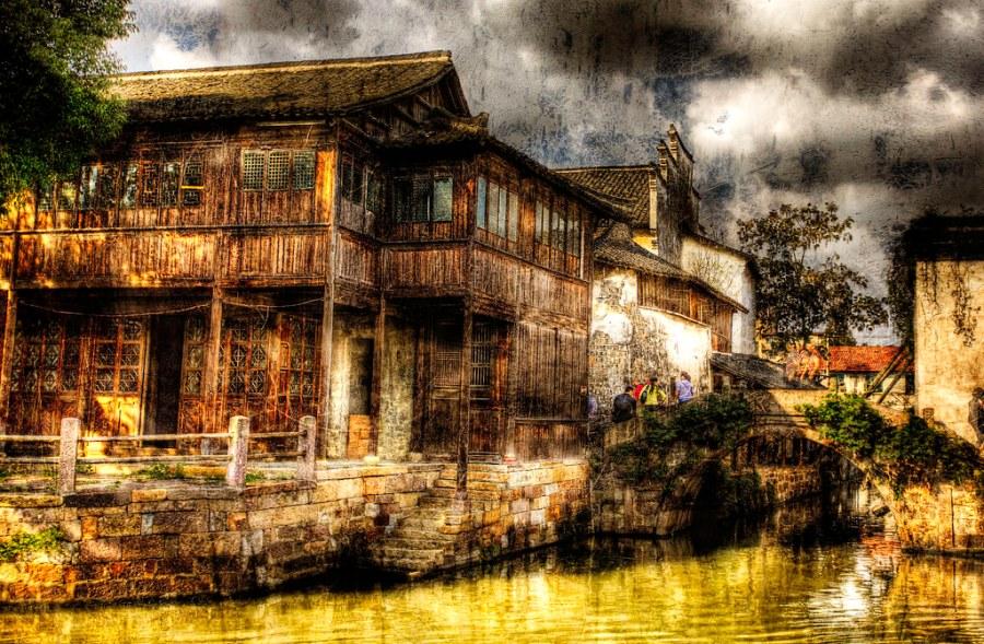 Wuzhen: Water Town.
