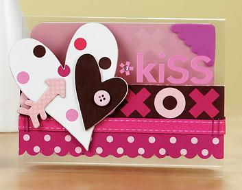 Carla Peicheffs Kiss Card