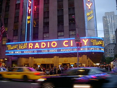 8.13.09 - NYC - Radio City Marquee