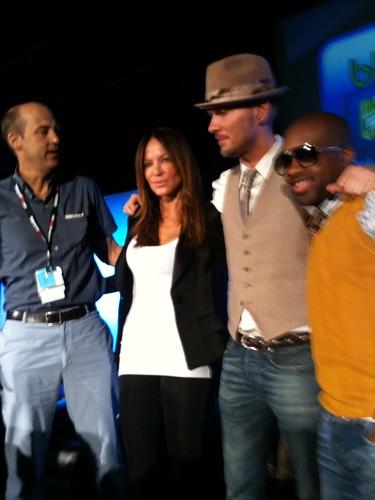 ((nogallery)) Photos: BlogWorld Celebrity panel Jermain Dupri, Robin