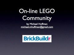 My Presentation On the On-line LEGO Community