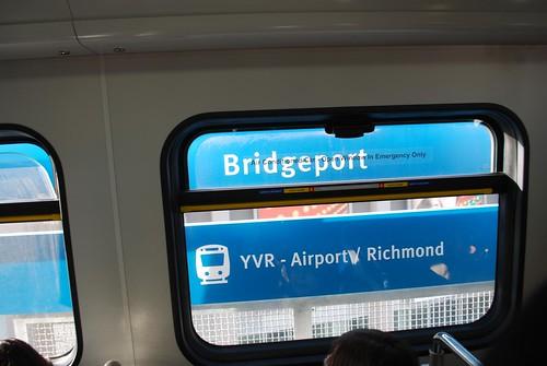 Bridgeport Station signs