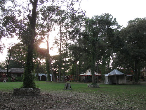 Faire site at Sunset