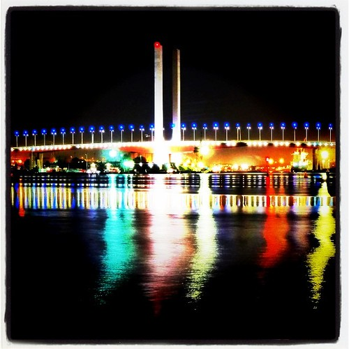 Bolte at night