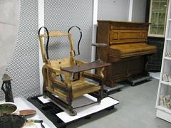 Billings Bridge Estate chair and piano