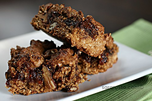 Fig & Chocolate Oatmeal Bars Recipe from Cookie Swap