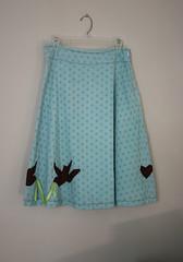 lovebirds skirt