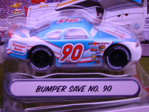 CARS Lightyear Launcher Bumper Save