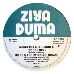 irene & the sweet melodians label -good luck