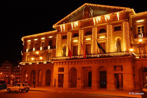 Fachada del Palacio de Navarra al Paseo de Sarasate
