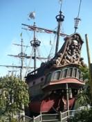 Galeone di Hook Disneyland Paris Parigi