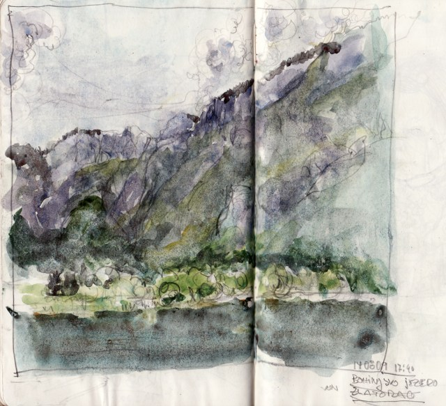bohinjsko jezero, slovenia