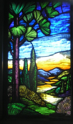Rock Creek Cemetery Window