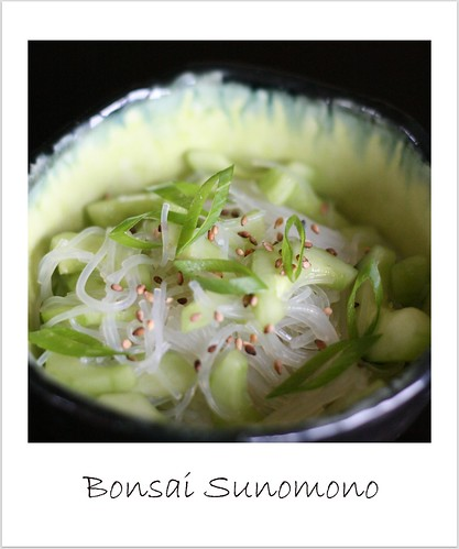 Bonsai_sunomono by you.