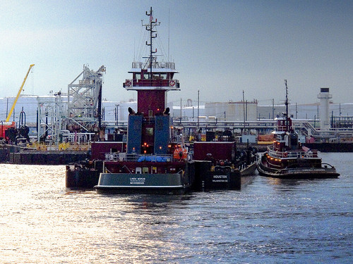 Tugs at dock by you.