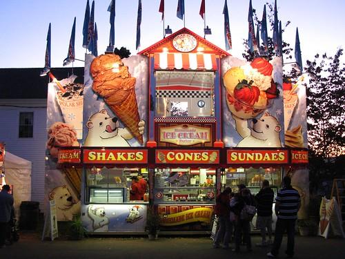 Durham Fair 2009- Shakes - Cones- Sundaes