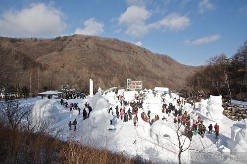 Taebaek Snow Festival.