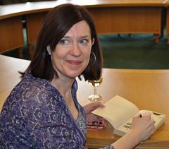 Sophie McKenzie signing