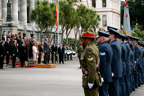 Tuesday: King and Queen of Spain