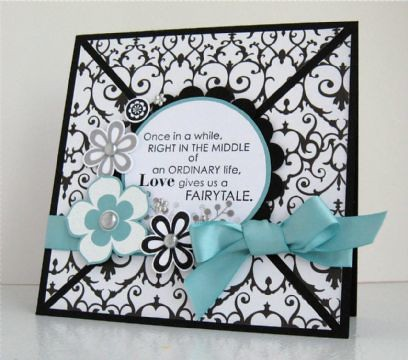Finalist 5: Tessa Wises Fairytale Wedding Card