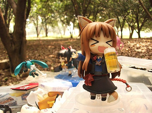 Yes, she loves to drink alcohol as well!