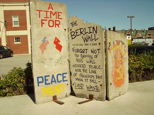 berlin wall in Portland, ME