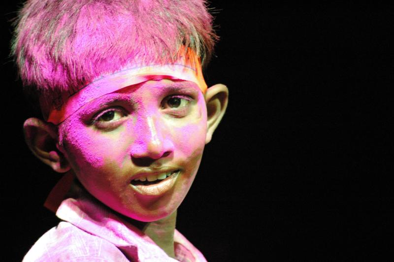Raju, at Ganesh Festival, Hyderabad, India