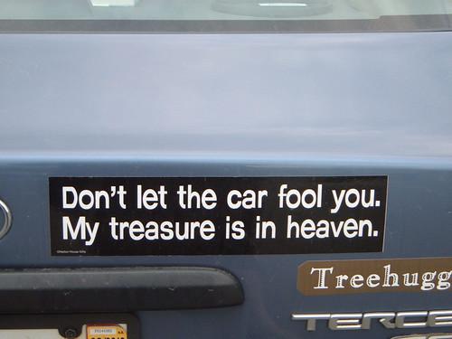 My Treasuer is in Heaven