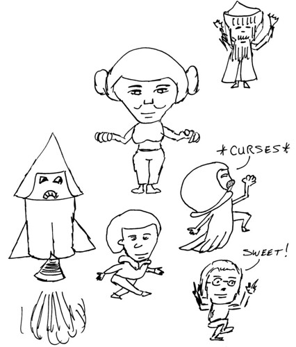 Character design, part 4