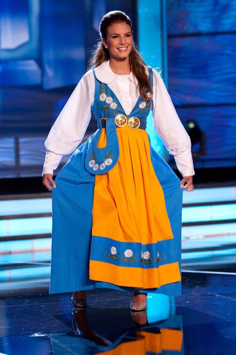 Traje Típico de Miss Suecia