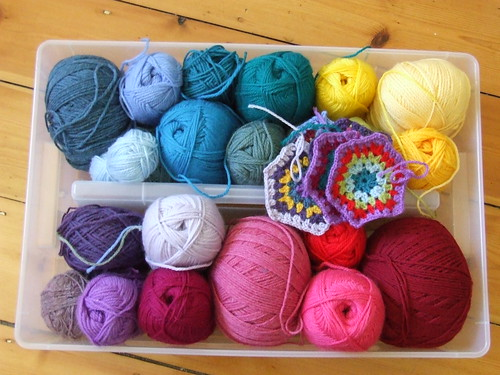 Tub o' yarn by you.