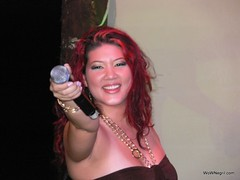 Tessane Chin at Negril Escape