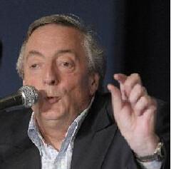 Perdimos por poquito, dijo Kirchner.