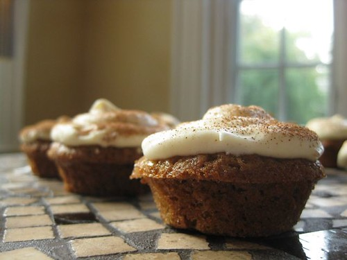 Apple Spice Mini Cupcakes 1