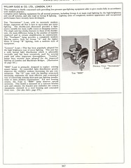 Gas Street Lighting - information sheet - c1950