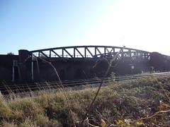 Railway Bridge separating Lambeth and Wandsworth