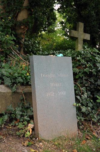 Douglas Adams grave