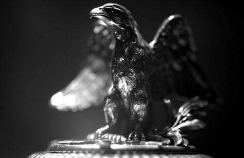 Museum — Eagle. (Kodak T-Max 400. Nikon F100. Epson V500.)